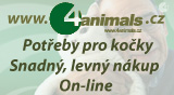 4animals chovatelské potřeby pro kočky