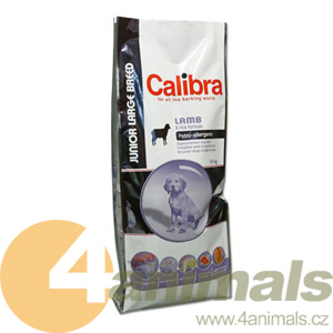 Calibra Junior Large Breed Lamb&Rice 15kg