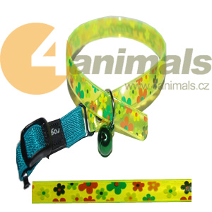 Rogz obojek AristoCat Collar Yellow